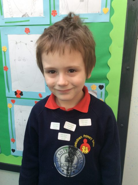 2BY Our super star of the week for working really hard.... Alfie Conroy