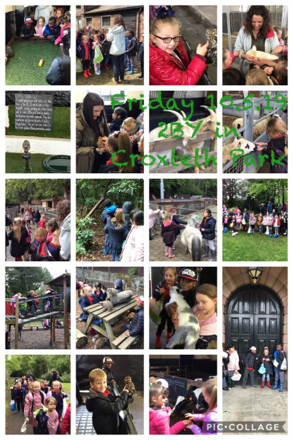 2BY on a trip to Croxteth Park