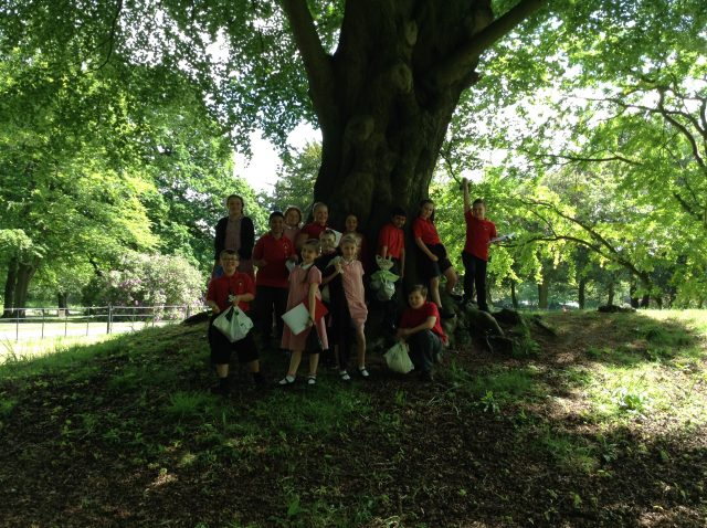 5S Croxteth park science trip