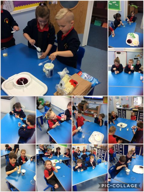 1S - making fruit desserts