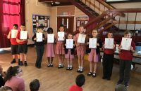 Arts award certificates given