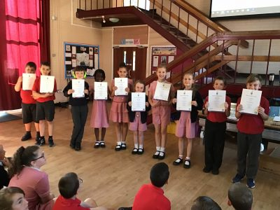 Arts award certificates given